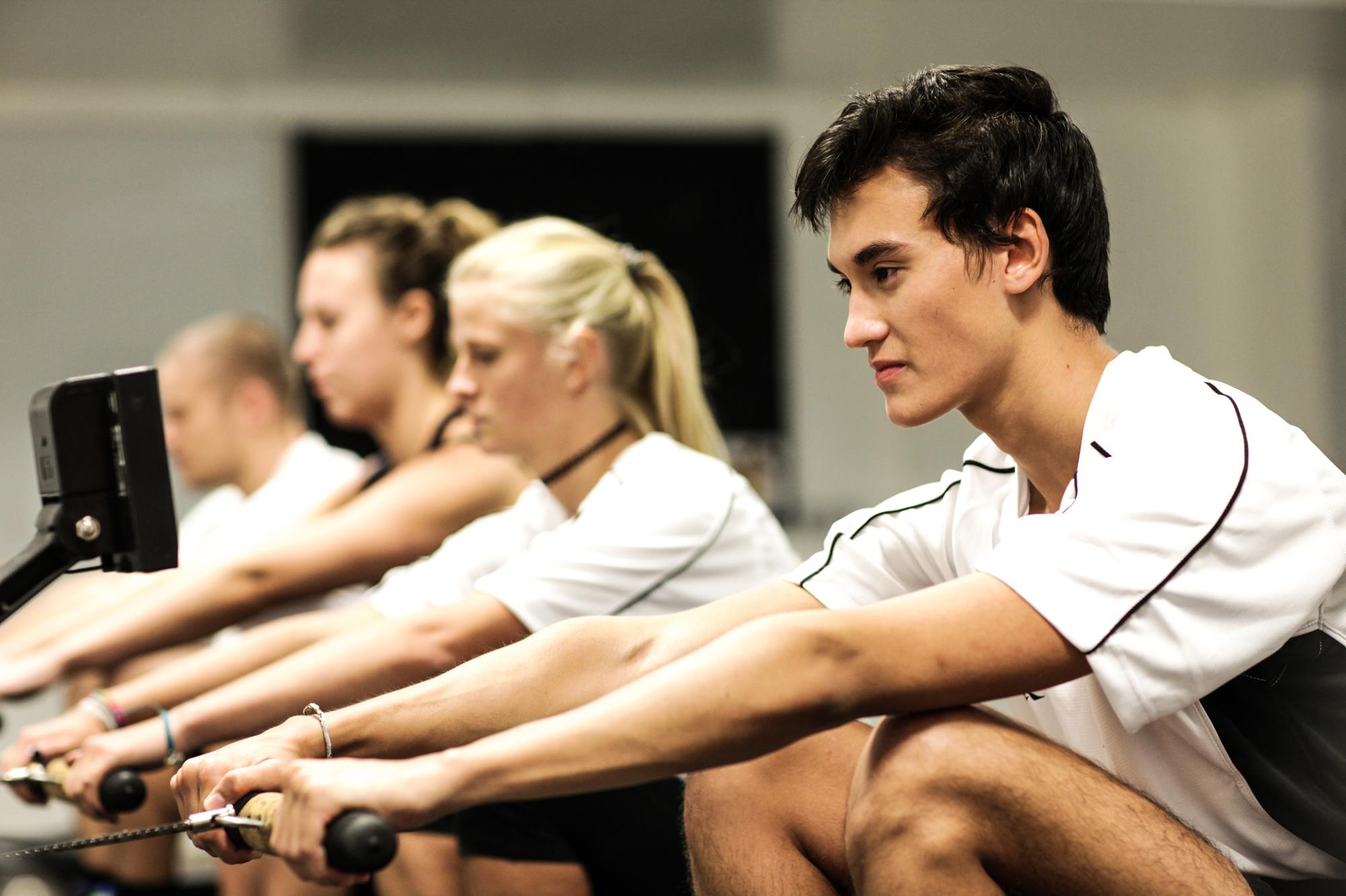 Ergo Room Rowing Dulwich College Sports Club